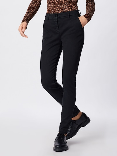 REPLAY Hose 'Lysa' in schwarz, Modelansicht