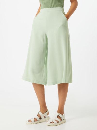 VILA Spodnie 'MONNA' w kolorze miętowym, Podgląd na modelu(-ce)