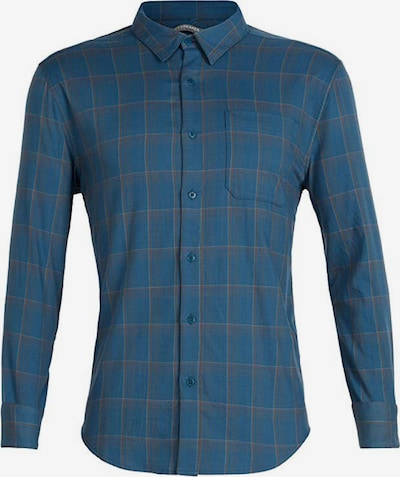 Icebreaker Hemd 'Compass Flannel' in blau / grau / hellgrau, Produktansicht