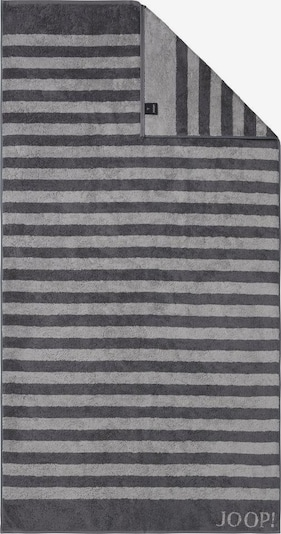 JOOP! Duschtuch 'Stripes' in grau / dunkelgrau, Produktansicht