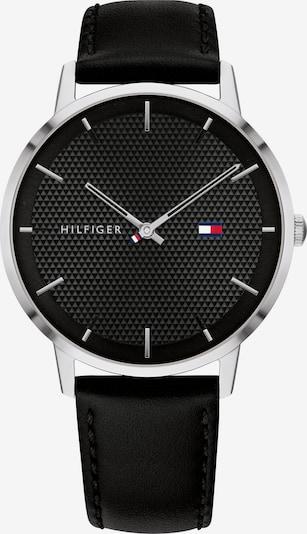 TOMMY HILFIGER Uhr in schwarz / silber, Produktansicht