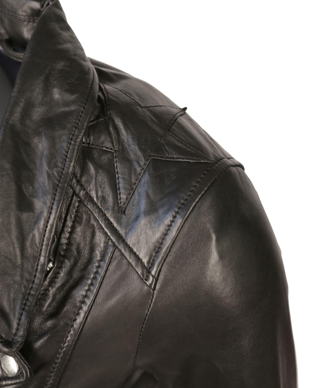 Rabatt-Shop Für Maze Lederjacke mit asymmetrischem Reißverschluss und Lederfransen 'Indiana' 2018 Neu Zu Verkaufen Steckdose Versorgungs 1TQE0