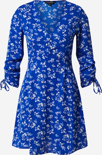 Dorothy Perkins Jurk 'BLUE CHANNEL RUCHED SLEEVED DRESS' in de kleur Royal blue/koningsblauw, Productweergave