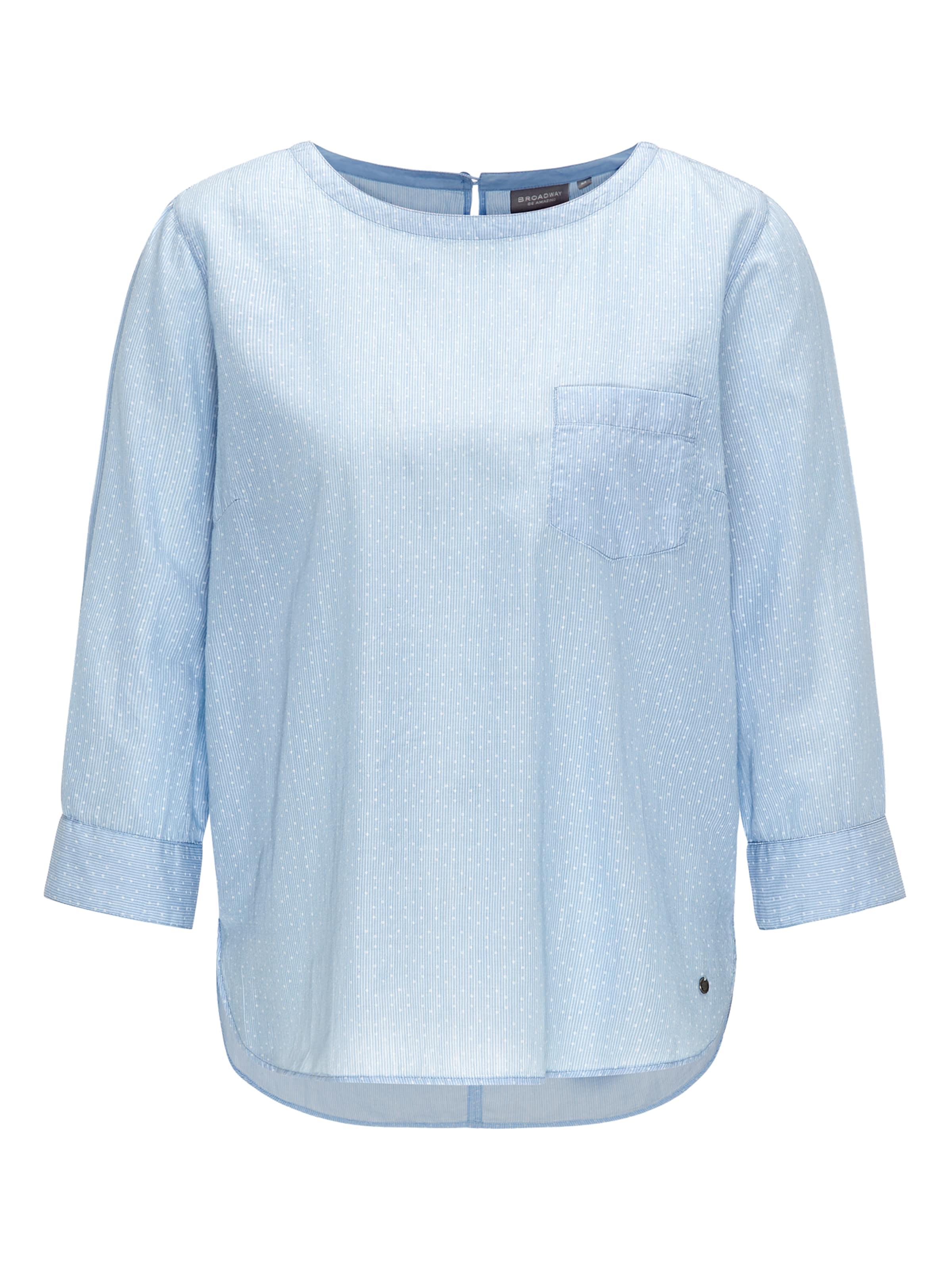 'pales' In HellblauWeiß Fashion Nyc Broadway Bluse H2D9IWEY