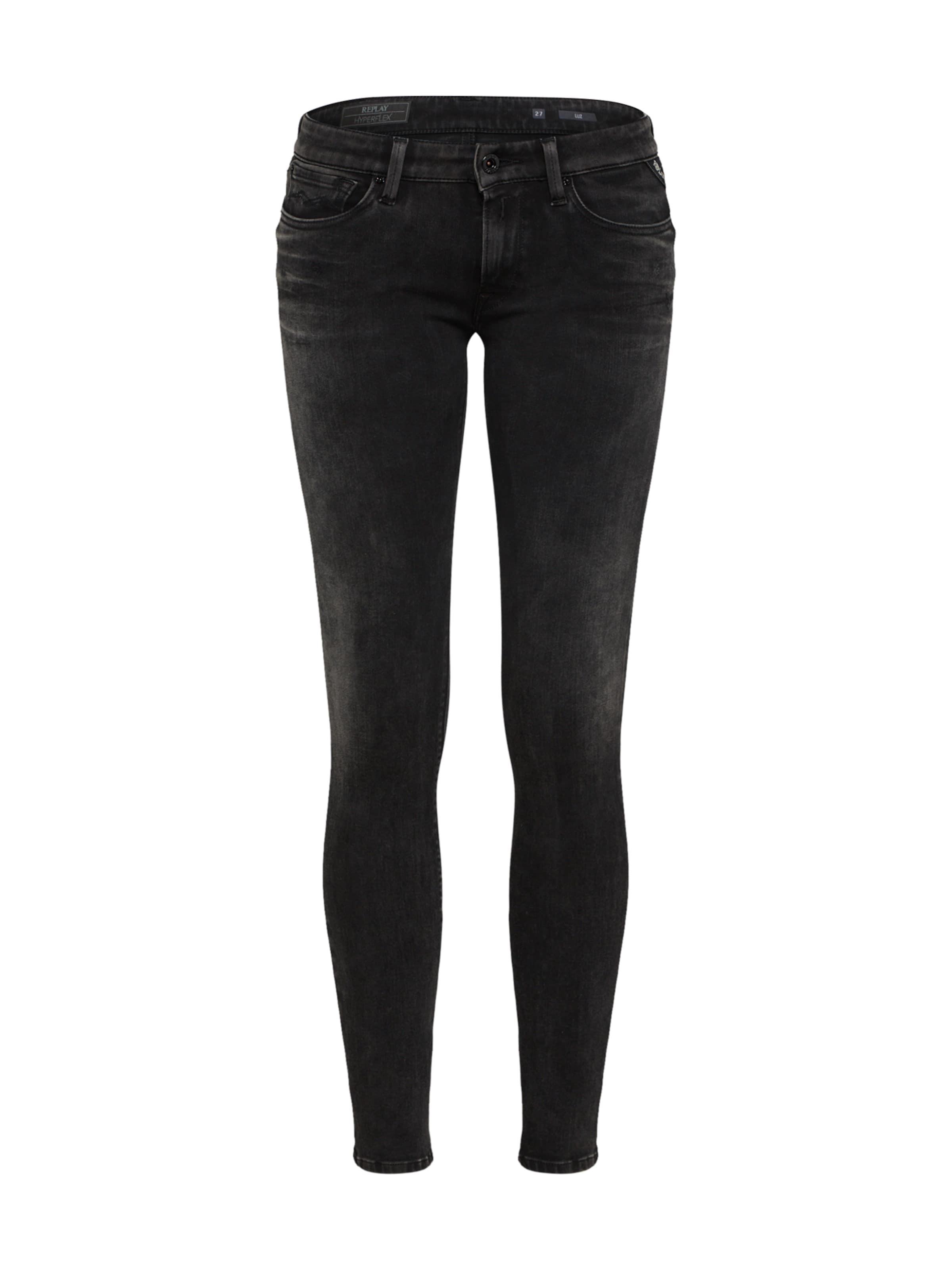 In Black Replay Jeans 'luz Hyperflex' Denim j3RL4Aq5