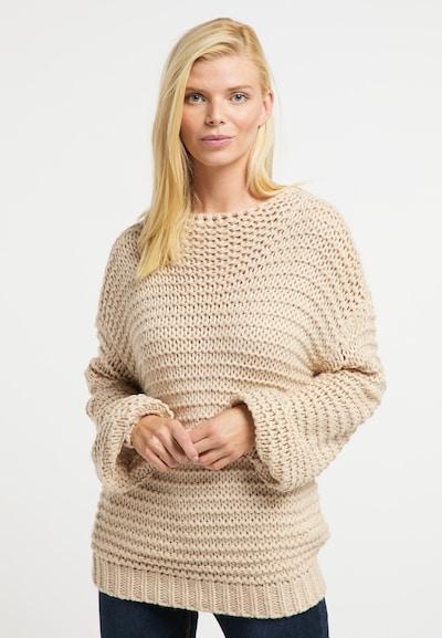 Usha Pullover in beige, Modelansicht