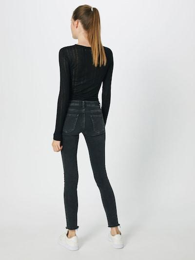 LTB Jeans 'MINA' in black denim: Rückansicht