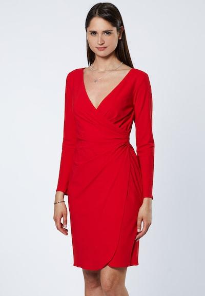 EVITA Robe en rouge: Vue de face
