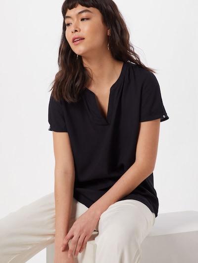 ESPRIT Bluse '45s VISCOSE Eco' in schwarz, Modelansicht