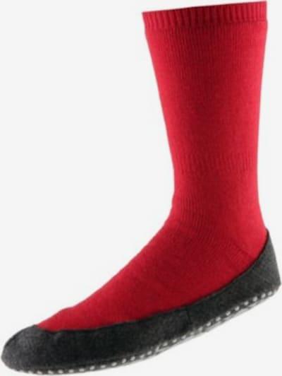 FALKE Hausschuh 'Cosyshoe' in rot / schwarz, Produktansicht