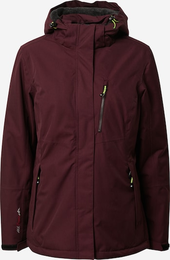 KILLTEC Outdoor jacket 'Nira' in plum, Item view