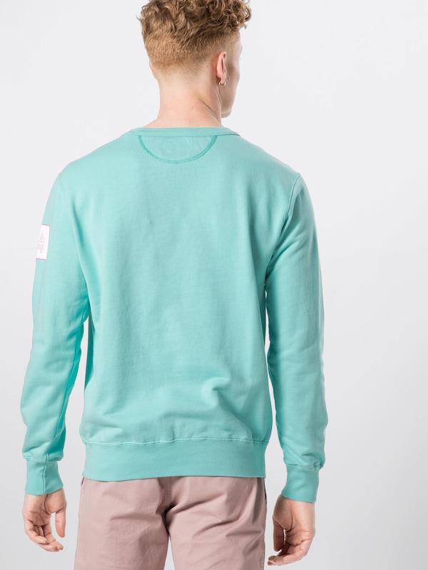 Best Company Company Company Sweatshirt 'CREW' in aqua  Mode neue Kleidung f61718