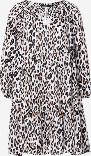 Zwillingsherz Kleid 'Luna' in beige / schwarz / weiß, Produktansicht