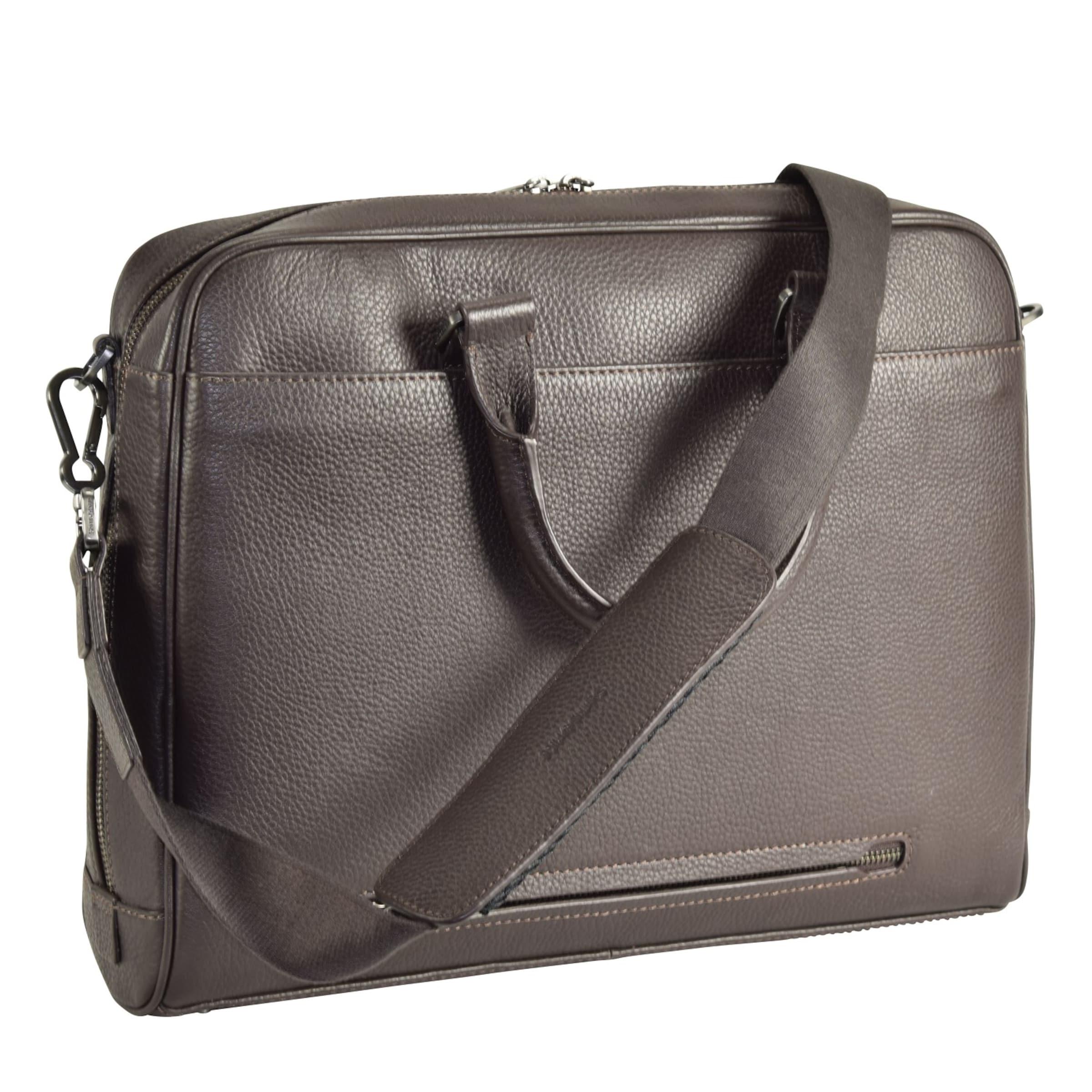 SAMSONITE Equinox Aktentasche Leder 39 cm Laptopfach Drop-Shipping Billig Verkauf Footlocker 5Vic7ST