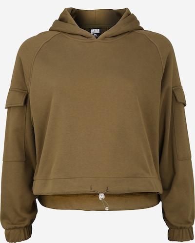 Urban Classics Curvy Sportisks džemperis olīvzaļš, Preces skats