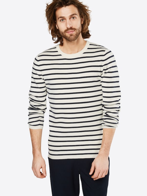 SELECTED HOMME Gestreifter Strickpullover