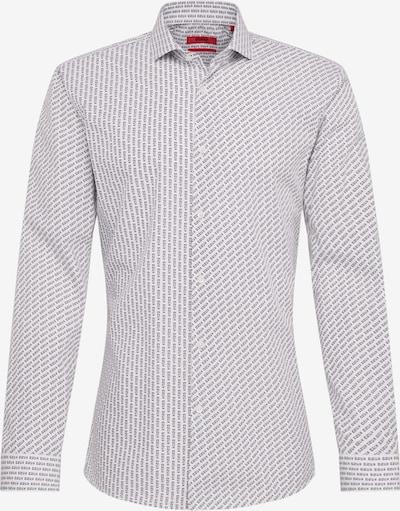 Dalykiniai marškiniai 'Erriko' iš HUGO , spalva - juoda / balta, Prekių apžvalga