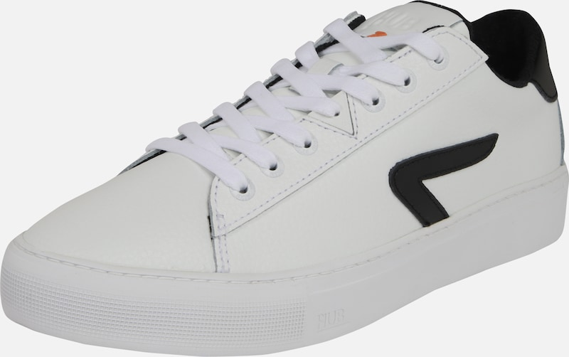 HUB Sneaker 'L31 Leather (no perf)' in schwarz / weiß, Produktansicht