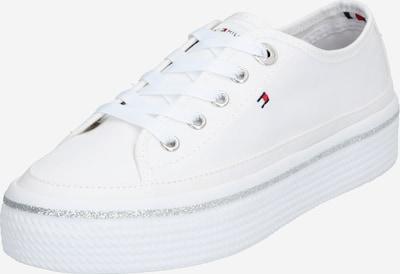 fehér TOMMY HILFIGER Rövid szárú edzőcipők, Termék nézet