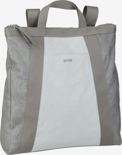 BREE Rucksack 'Vary 5' in grau / weiß, Produktansicht