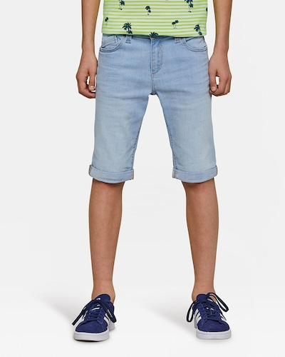 WE Fashion Shorts 'Zeke' in hellblau: Frontalansicht