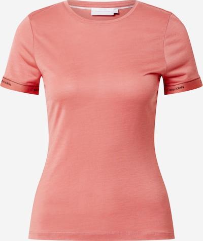 Calvin Klein T-shirt en rose, Vue avec produit