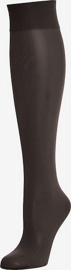 Wolford Kniekousen 'Satin Touch 20 Knee-Highs' in de kleur Zwart, Productweergave