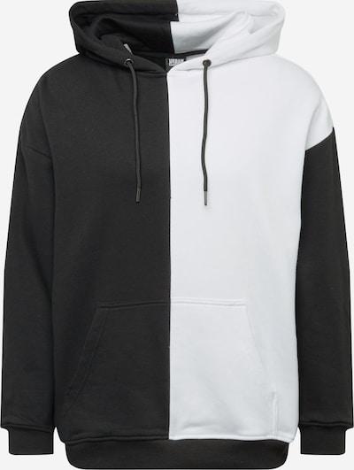Urban Classics Sweatshirt in de kleur Zwart / Wit, Productweergave