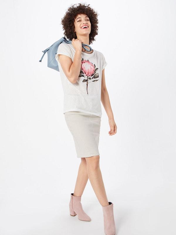 shirt 'sc En Cassé 31' Blanc Soyaconcept panik T cqjAL534R