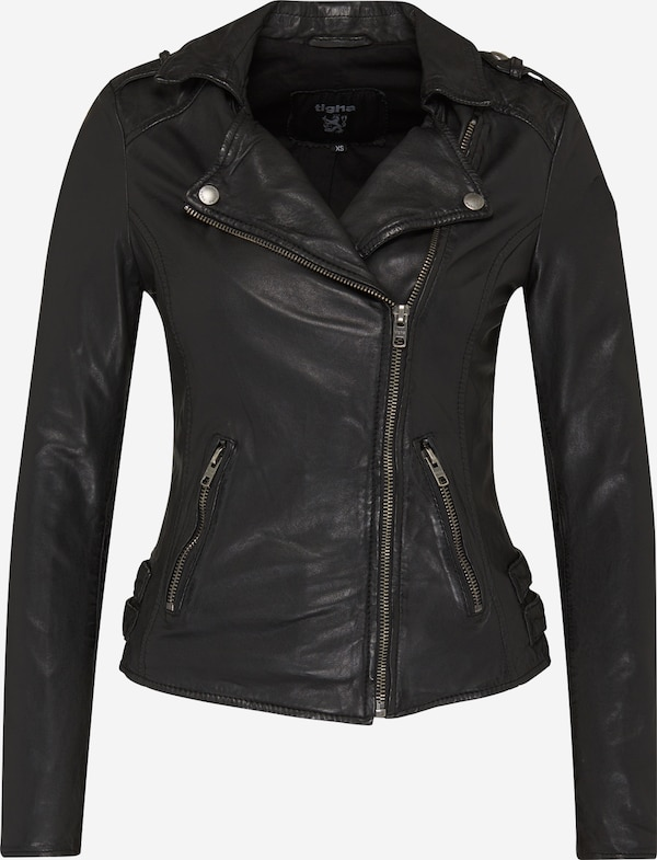 tigha Lederjacke 'Alexandra' in schwarz | ABOUT YOU
