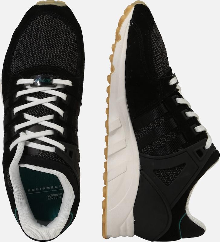 Basses 'eqt Baskets En Originals Support' Noir Adidas PXZnwk0O8N