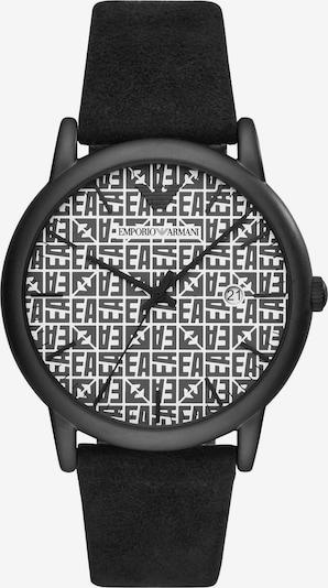 Emporio Armani Uhr in schwarz / weiß, Produktansicht