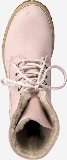 Suvarstomieji batai iš TAMARIS , spalva - rožių spalva: Vaizdas iš viršaus