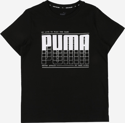 Tricou funcțional PUMA pe negru, Vizualizare produs
