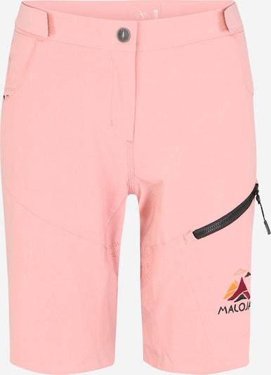 Maloja Pantalon outdoor 'RoschiaM.' en rose, Vue avec produit