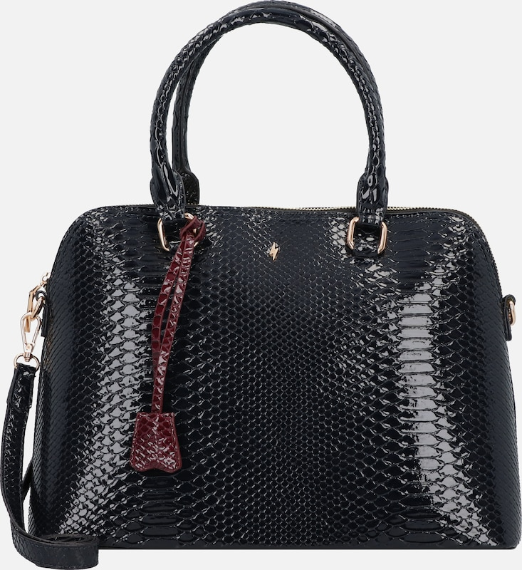 PAULS BOUTIQUE LONDON Handtasche 'Maisy' in schwarz, Produktansicht