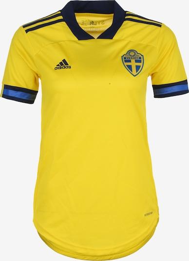 ADIDAS PERFORMANCE Trikot 'Schweden Home EM 2020' in dunkelblau / gelb, Produktansicht