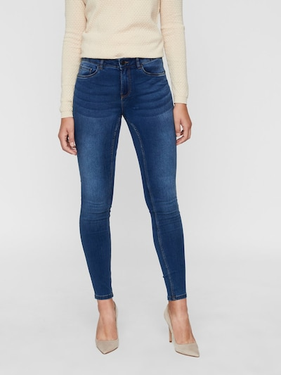 VERO MODA Jeans in blue denim, Modelansicht