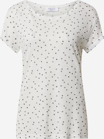 Sublevel Shirt in weiß, Produktansicht