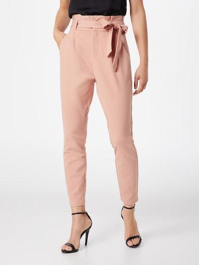 VERO MODA Voltidega püksid 'VMEVA' roosa, Modellivaade