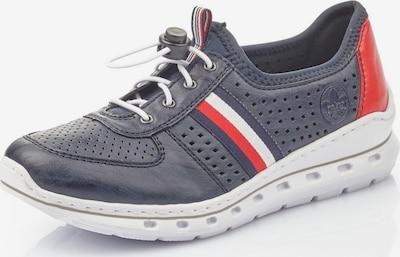 Sneaker low RIEKER pe albastru închis / roșu, Vizualizare produs