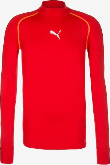 PUMA Trainingsshirt 'TB Warm' in rot, Produktansicht