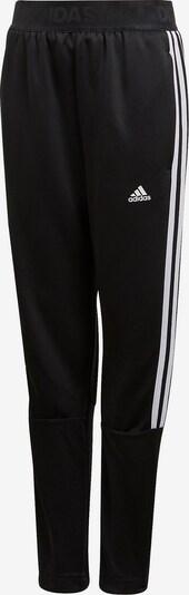 ADIDAS PERFORMANCE Trainingshose 'YB Tiro 3S' in schwarz / weiß, Produktansicht