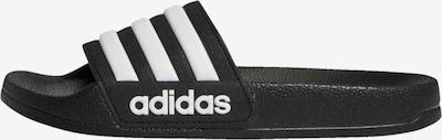 ADIDAS PERFORMANCE Strand-/badschoen in de kleur Zwart / Wit, Productweergave