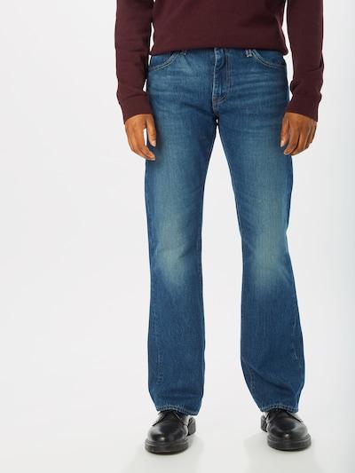 LEVI'S Jeans '527™ SLIM BOOT CUT' in blue denim, Modelansicht