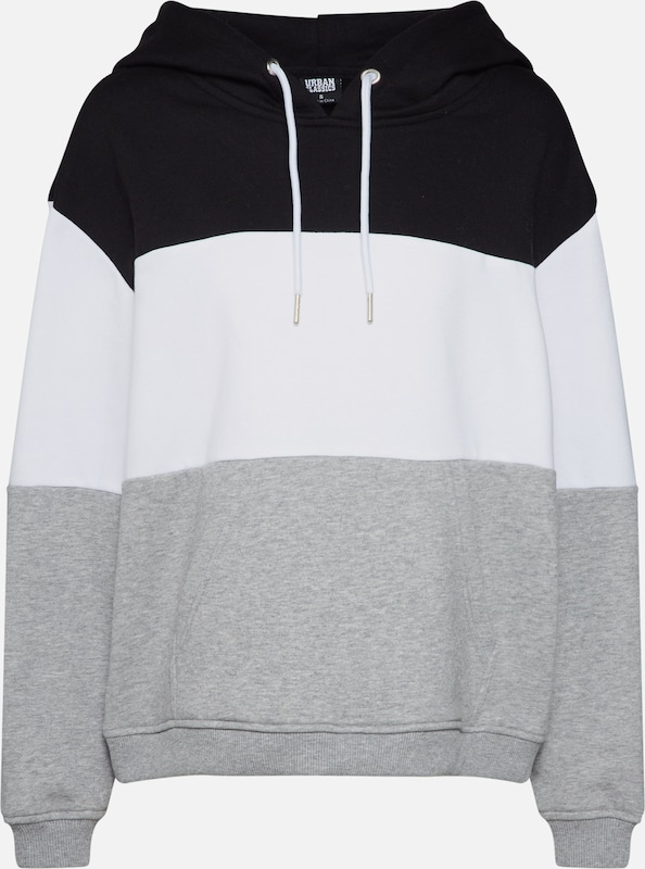 Classics 3 Blanc Hoody' 'ladies Sweat Oversize GrisNoir Urban tone shirt En Nvn0ymO8wP