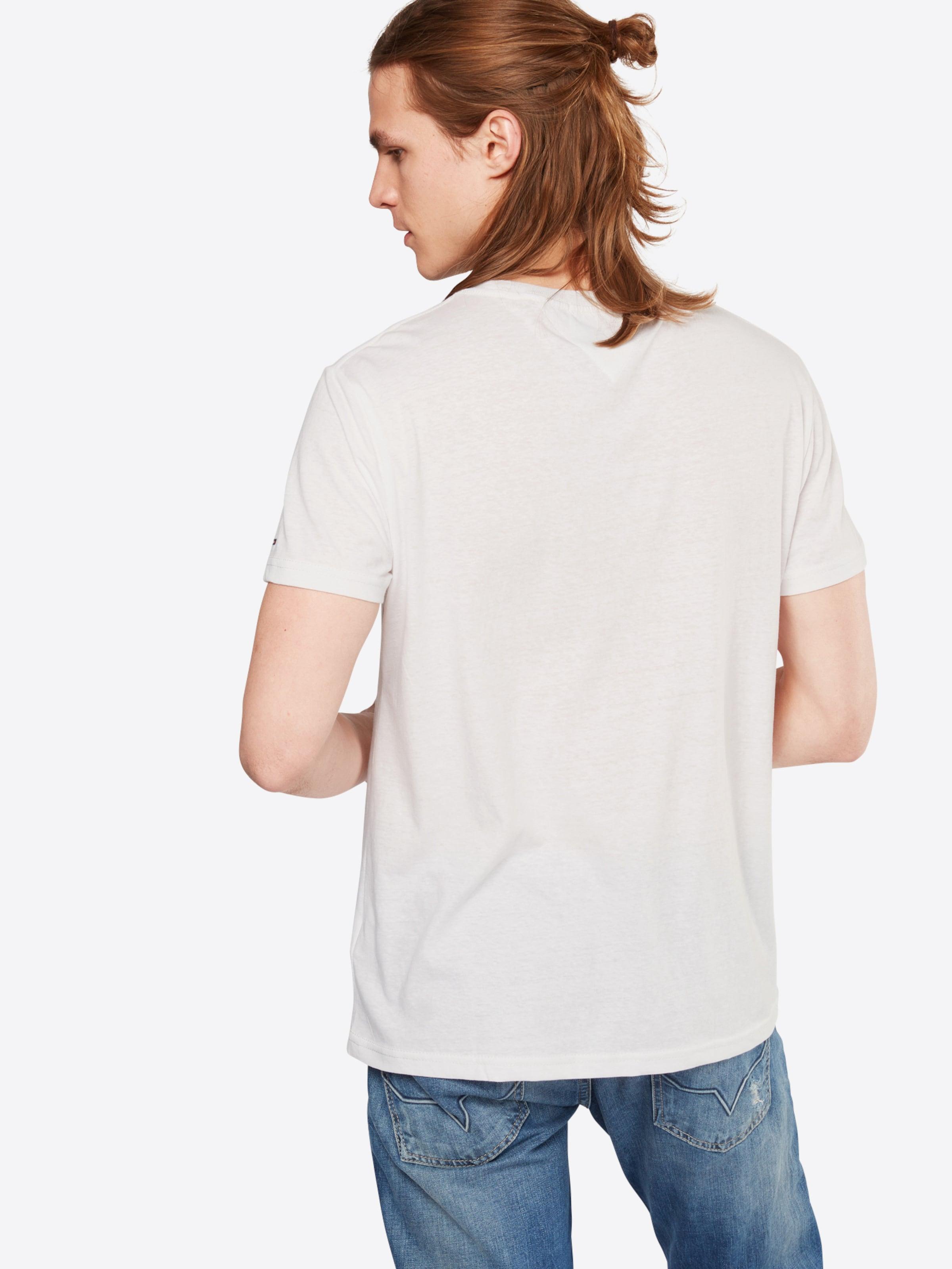 Für Billigen Rabatt Tommy Jeans T-Shirt 'TJM ESSENTIAL LOGO' Verkauf Truhe Finish p3DEwRO