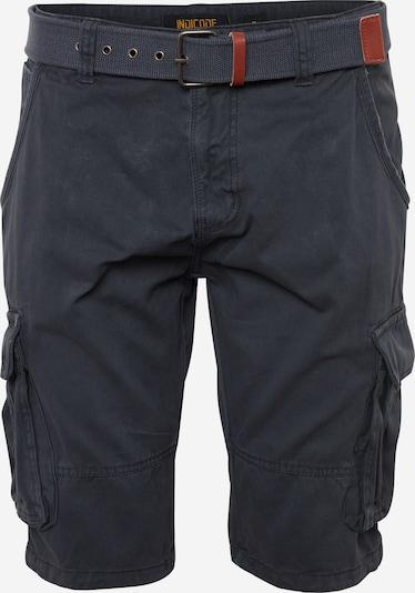 INDICODE JEANS Pantalon cargo 'Monroe' en bleu marine, Vue avec produit