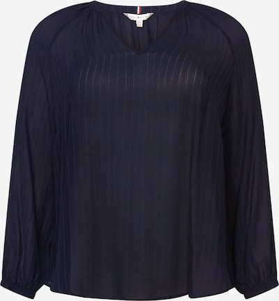 Tommy Hilfiger Curve Blouse 'ROSA' in de kleur Navy / Donkerblauw, Productweergave