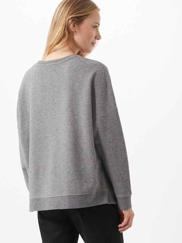 DRYKORN Sweatshirt 'Laima' in Graumeliert | ABOUT YOU